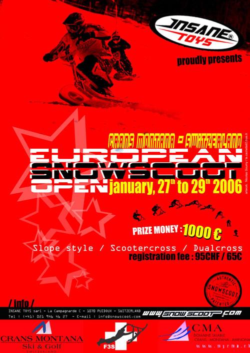 EUROPEAN SNOWSCOOT OPEN 2006